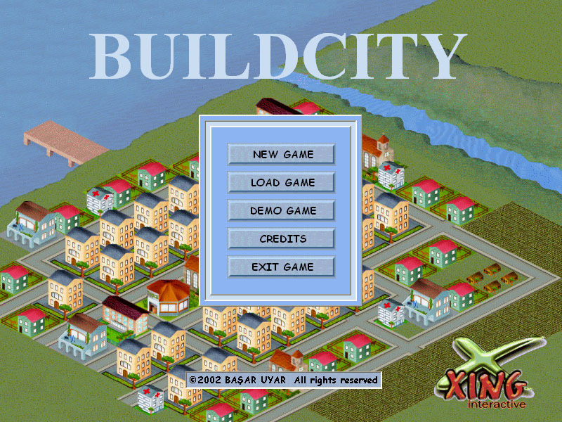 Build City Windows Main menu