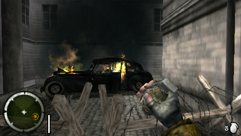 Medal of Honor: Heroes 2 PSP That oughta teach them generals driving around in their opulent Maybachs