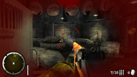 Medal of Honor: Heroes 2 PSP Heavy firefight in the sewers