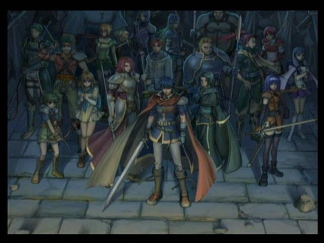 Fire Emblem: Path of Radiance GameCube The Greil Mercenaries