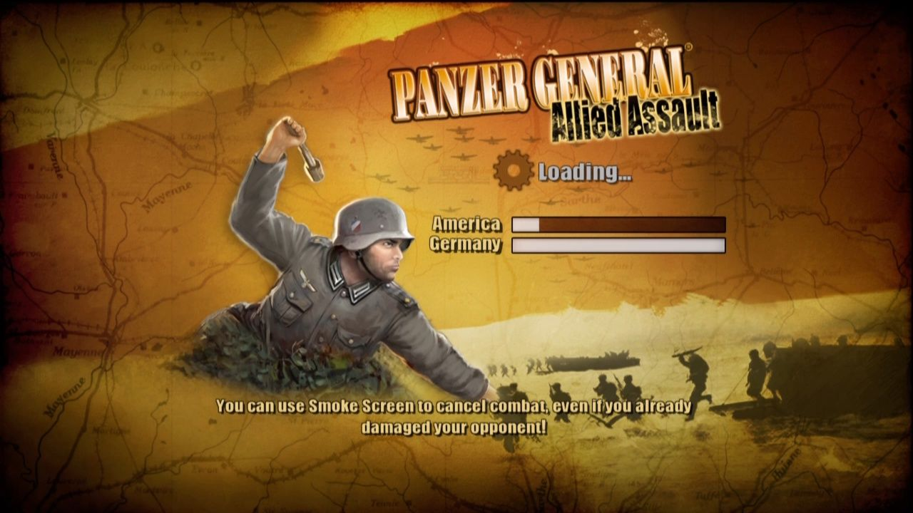 Panzer General: Allied Assault Xbox 360 Loading Screen