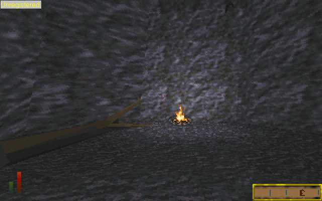 The Elder Scrolls: Chapter II - Daggerfall DOS You start the game in this barren cave, shipwrecked and trapped in by a mudslide