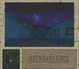 Boundary Gate: Daughter of Kingdom PC-FX City at night