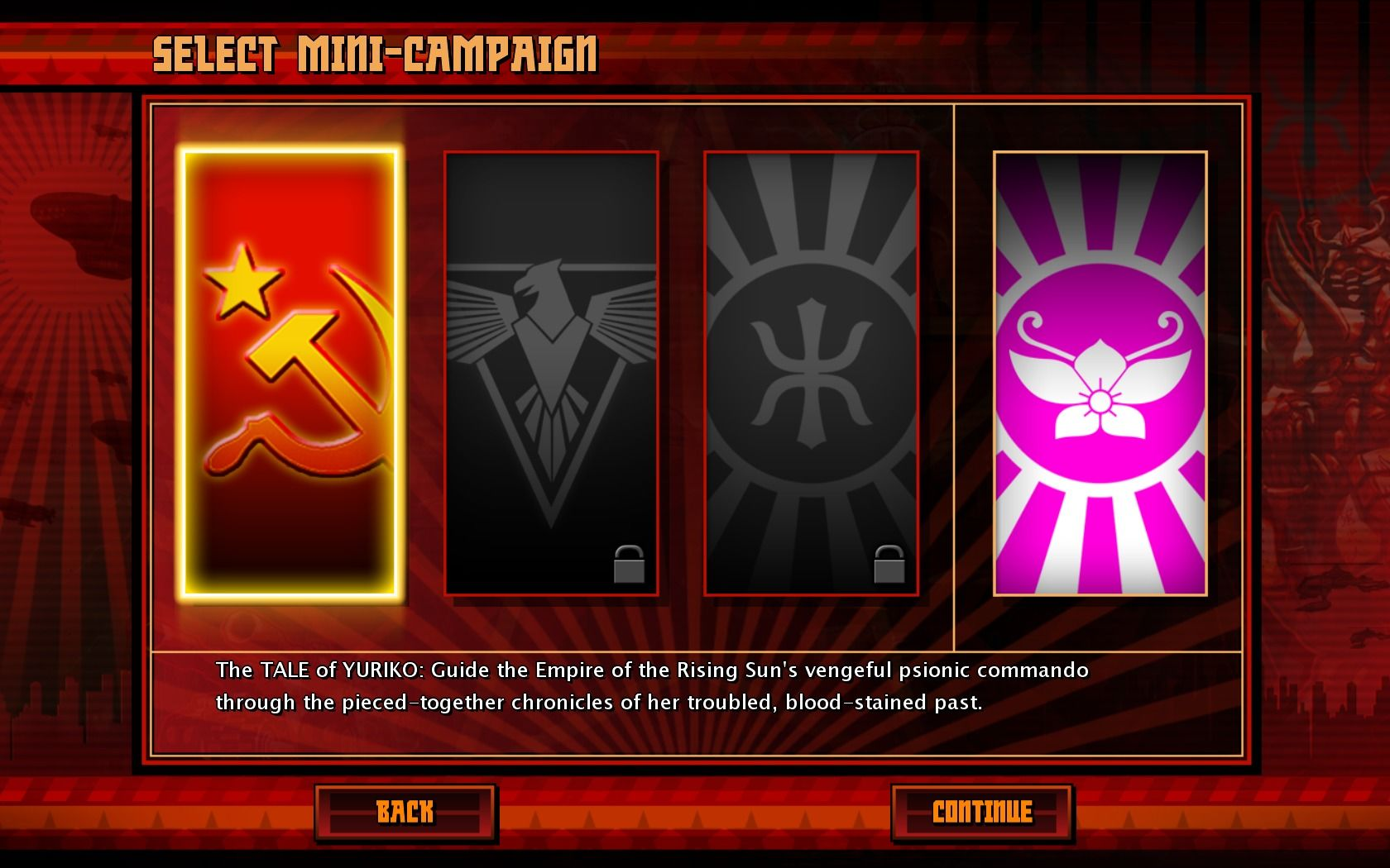 Command & Conquer: Red Alert 3 - Uprising Windows New campaigns.