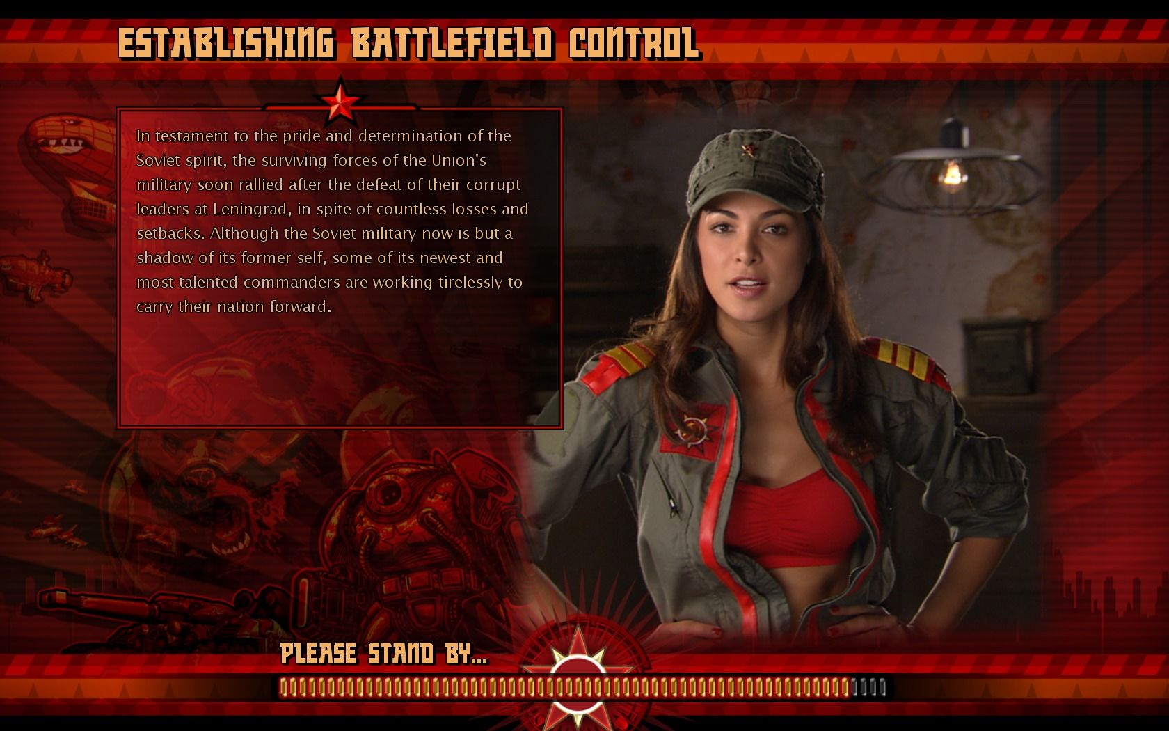 Command conquer red alert 3 uprising windows loading screen