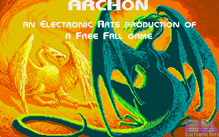 Archon: The Light and the Dark Amiga Title