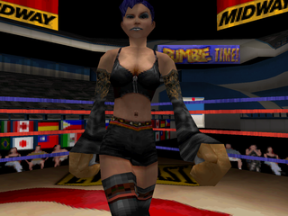 Ready 2 Rumble Boxing: Round 2 PlayStation Lulu Valentine