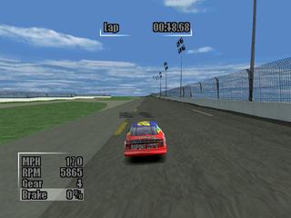 NASCAR Heat PlayStation Top viewNascar Top View