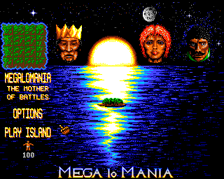 Mega lo Mania Amiga Getting ready for the Mother of All Battles.
