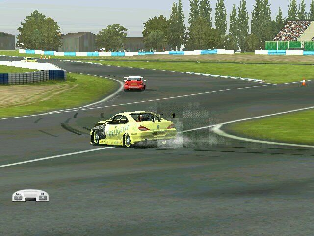 Pro Race Driver Windows Ruining my Peugeot at Silverstone