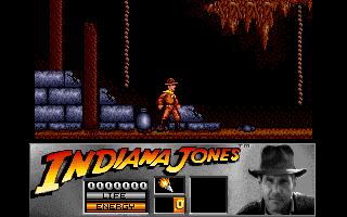 Indiana Jones and the Last Crusade: The Action Game Amiga Level 1 - Caverns