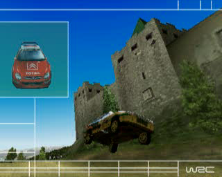 WRC: FIA World Rally Championship Arcade PlayStation Intro sequence, edited gameplay footage