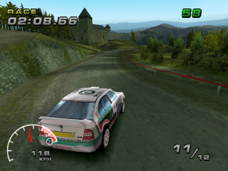 WRC: FIA World Rally Championship Arcade PlayStation France, pretty scenery