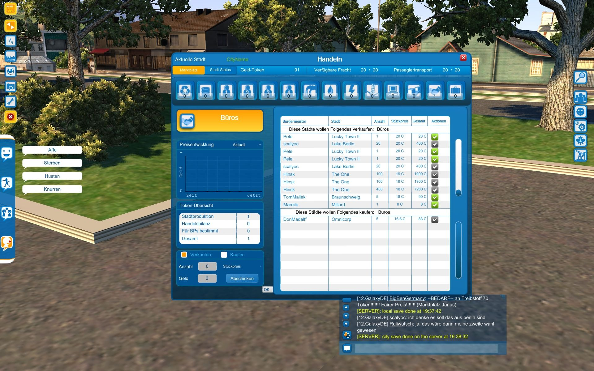 Cities XL Windows Trading with other cities (meaning players) is an imporant part of the planet mode.
