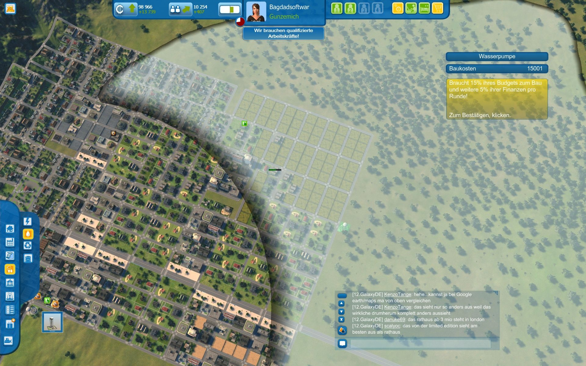 Cities xl screenshots for windows mobygames cities xl windows the grey parts of the city donx27t have water gumiabroncs Images