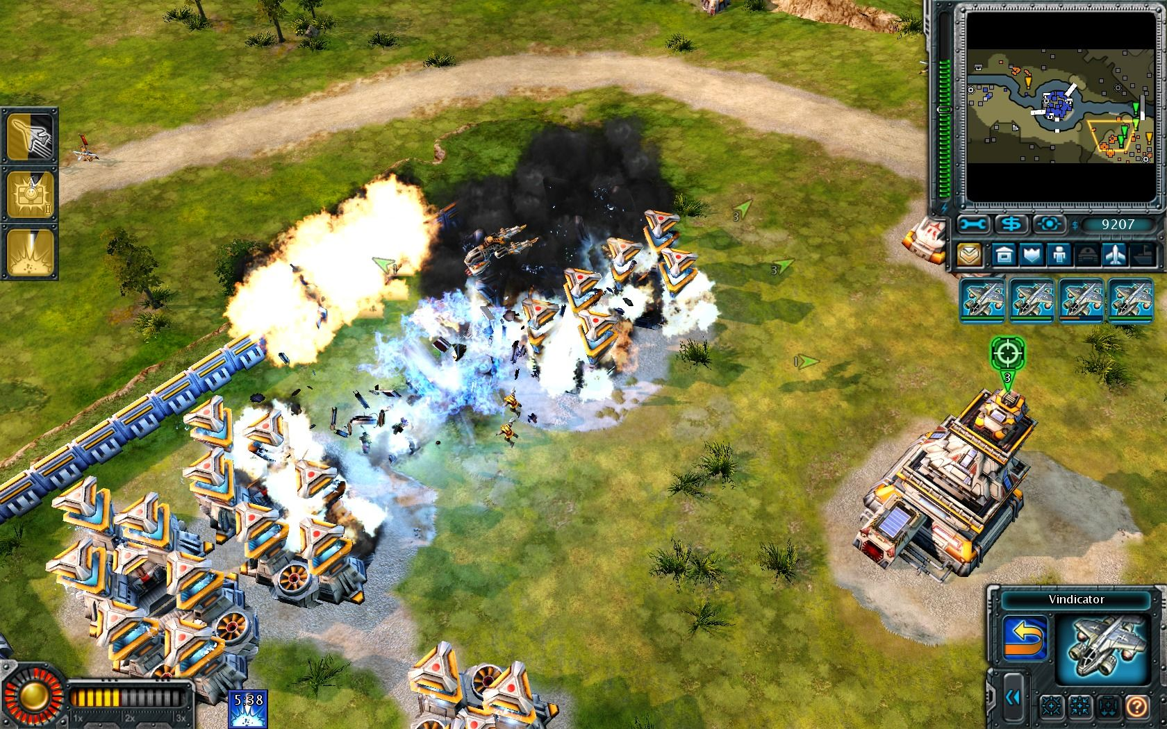 "Command & Conquer: Red Alert 3 - Uprising Windows ""I've got a present for ya!"", but there's no Havoc around to confirm it."
