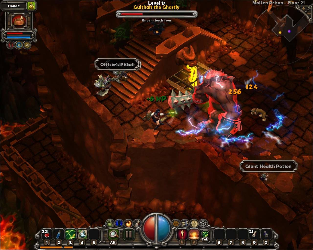 Torchlight Windows Fighting the boss
