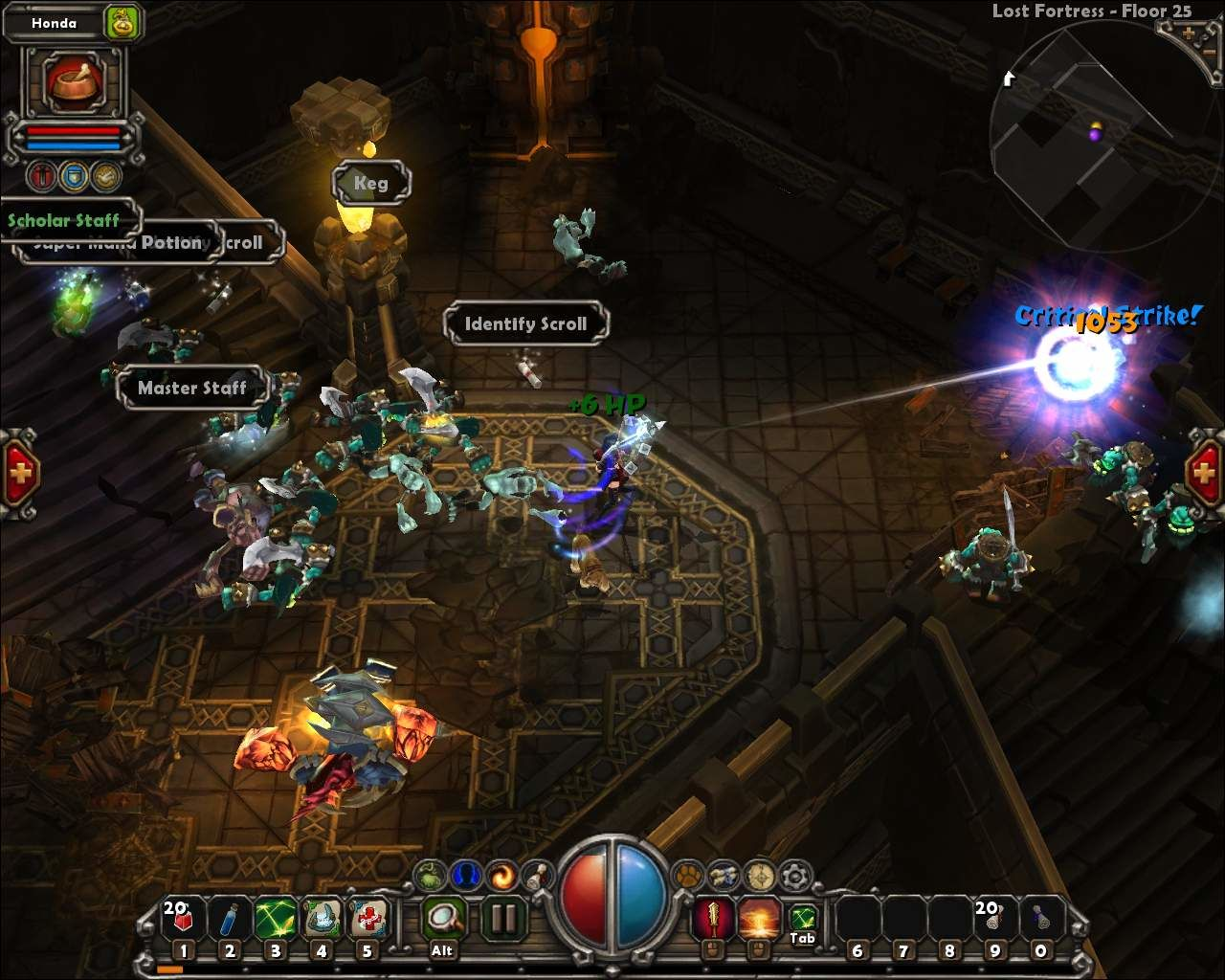 Torchlight Windows Special effect of skill