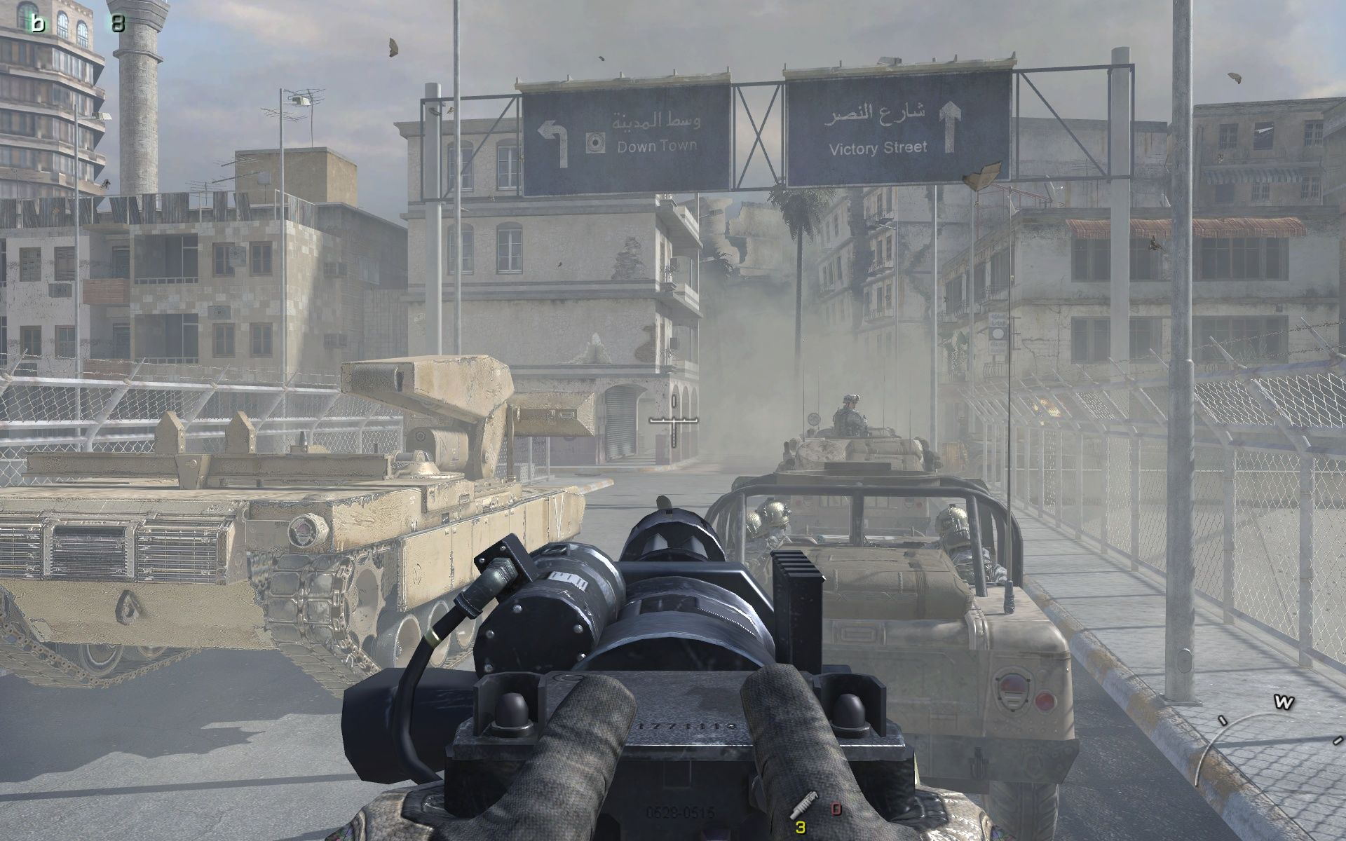 Call of Duty: Modern Warfare 2 Windows That's right: another rail-shooter-section.