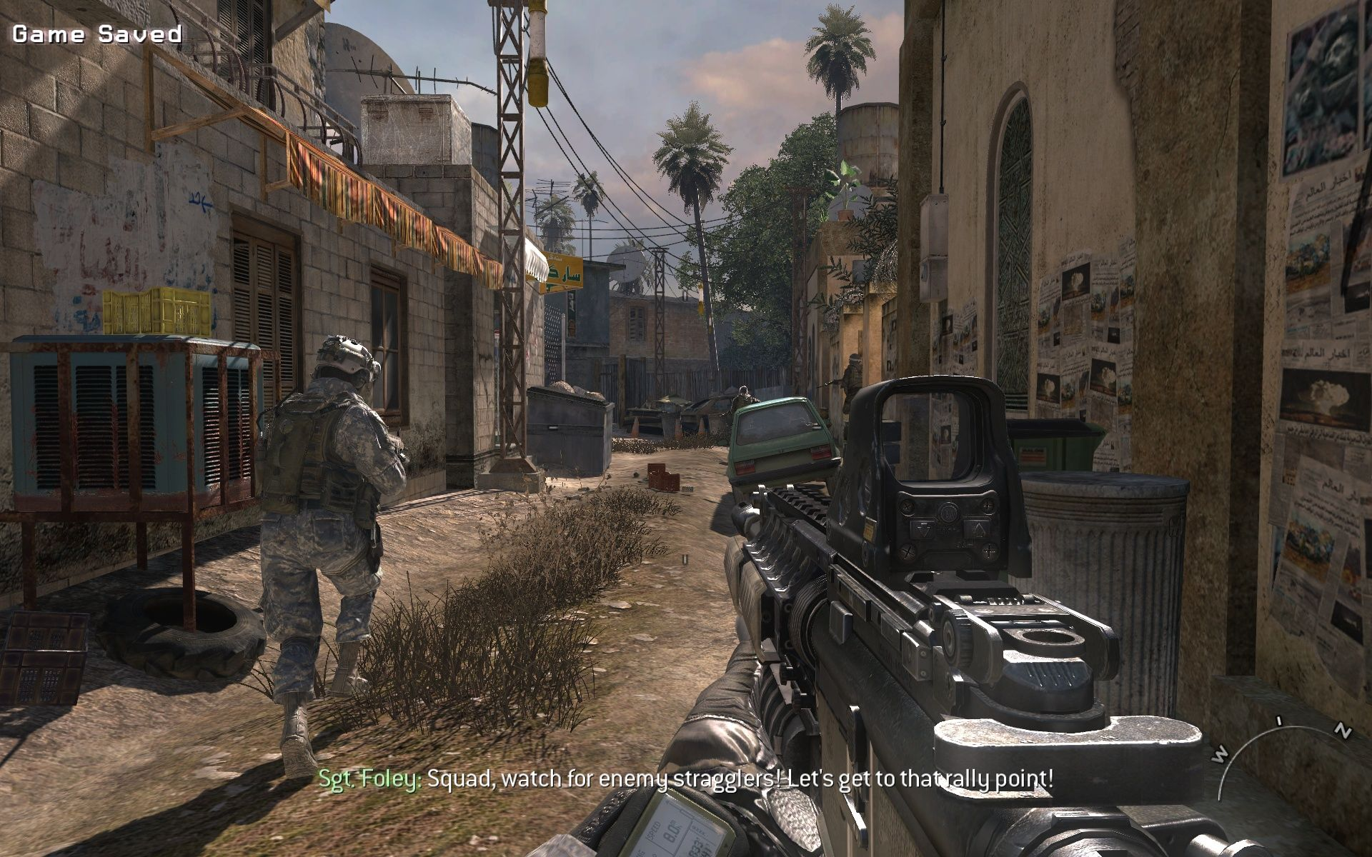 Call of Duty: Modern Warfare 2 Windows This doesn't look like a friendly neighbourhood.