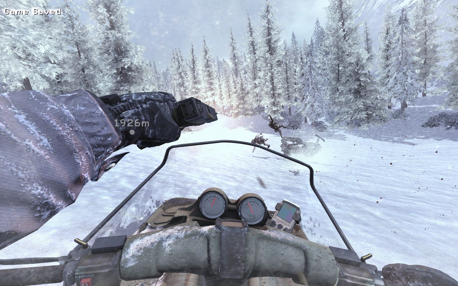 Call of Duty: Modern Warfare 2 Windows A snowspeeder-race with weapons - that's a game I would like to buy.