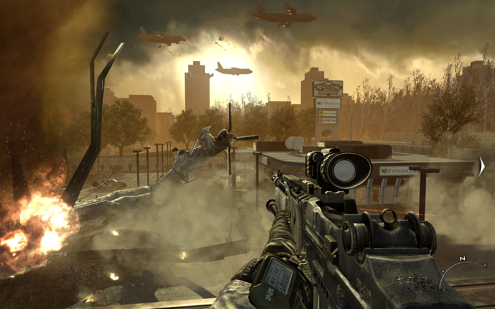 Call of Duty: Modern Warfare 2 Windows Feels a bit like the end of the world.