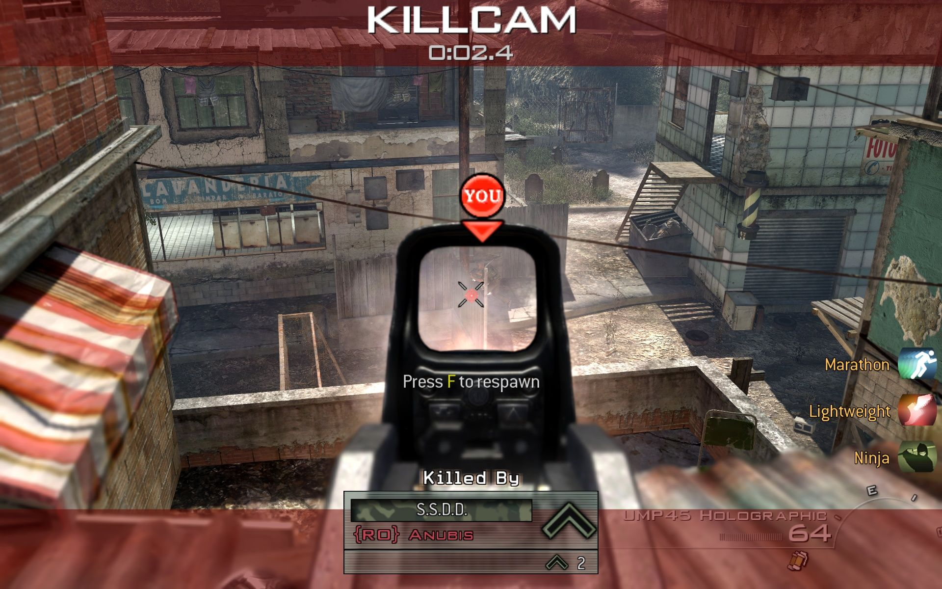 Call of Duty: Modern Warfare 2 Windows The killcam is back always showing you how bad you played.