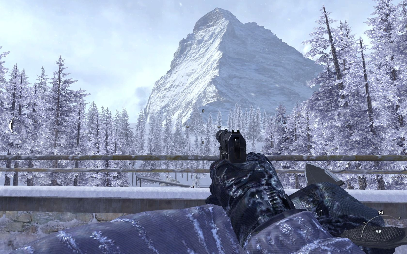 Call of Duty: Modern Warfare 2 Windows Stopping to admire the view may easily cost you your life.