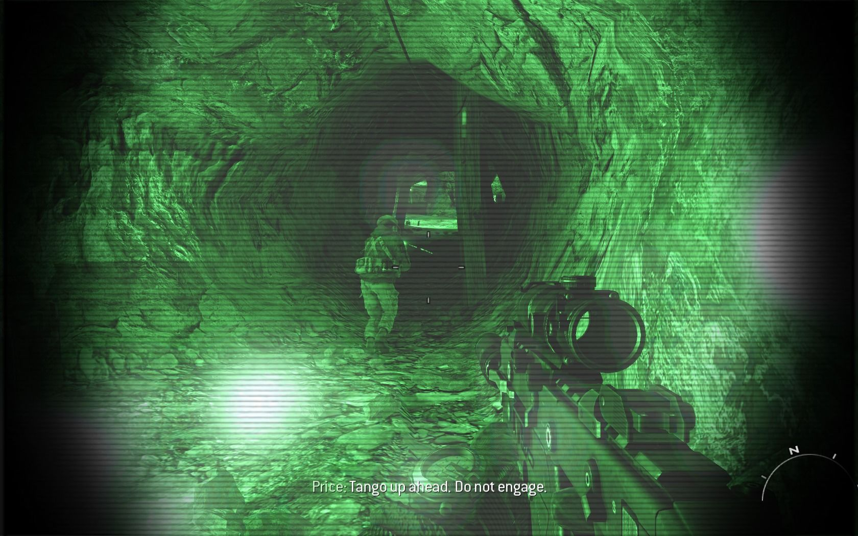 Call of Duty: Modern Warfare 2 Windows Switching to night-vision.