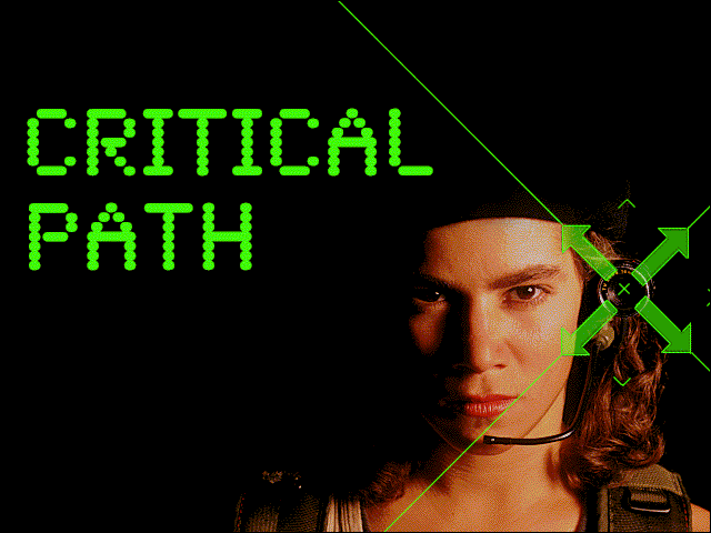 Critical Path Windows 3.x Title screen