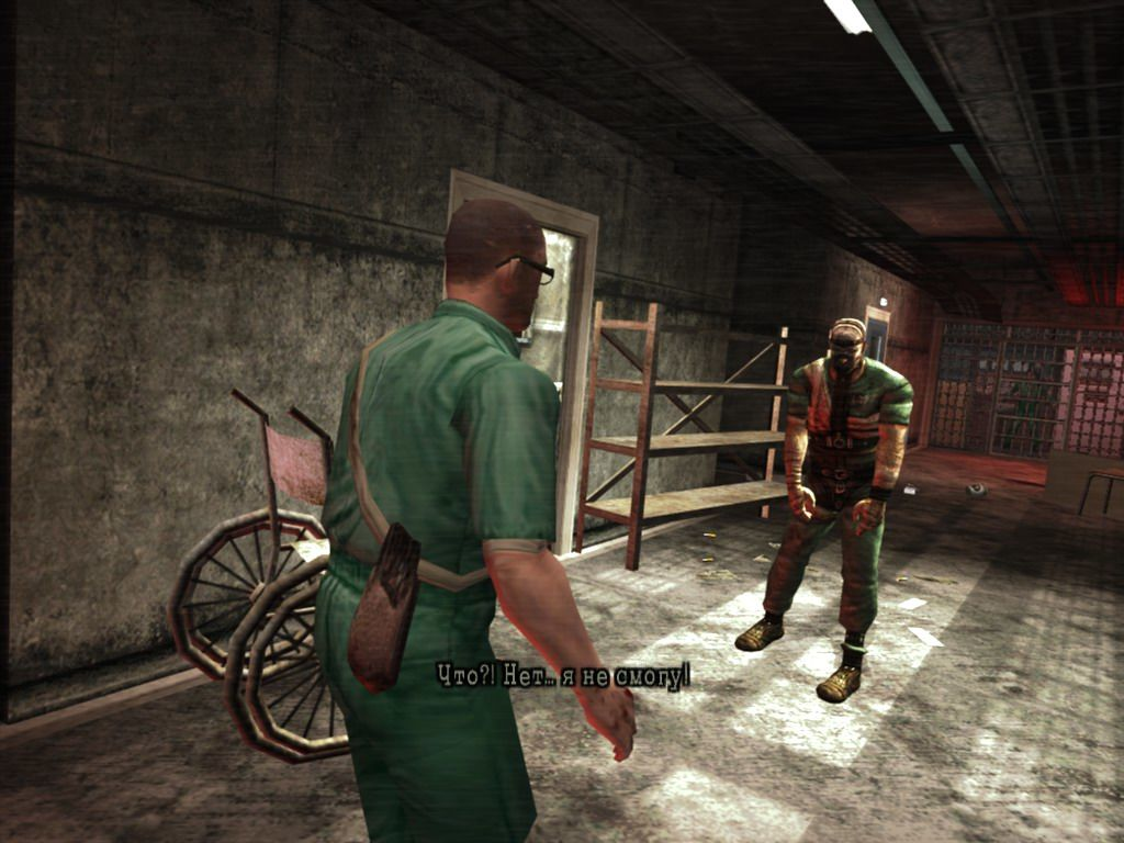 Manhunt 2 Windows Encountering the psycho (in Russian)