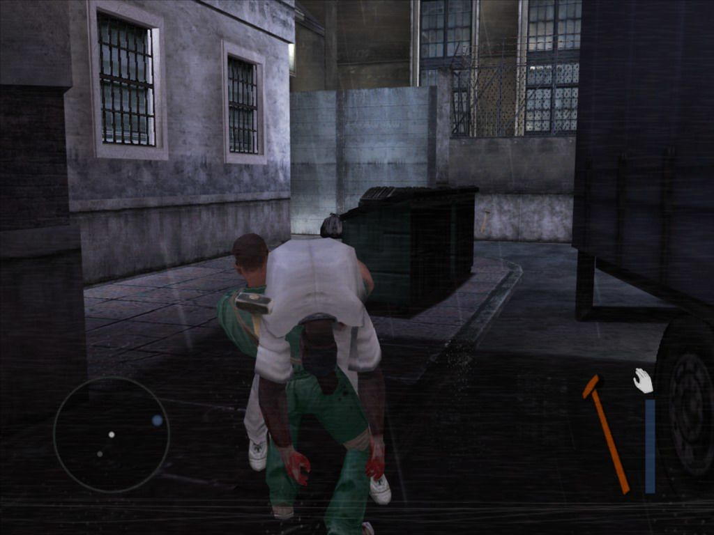 Manhunt 2 Windows Try to hide the body in dark place