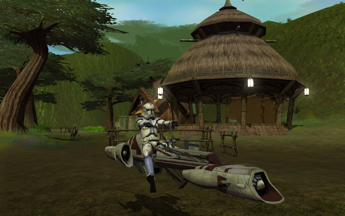Star Wars: Galaxies - The Total Experience Windows The BARC speeder reward for purchasing the Total Experience