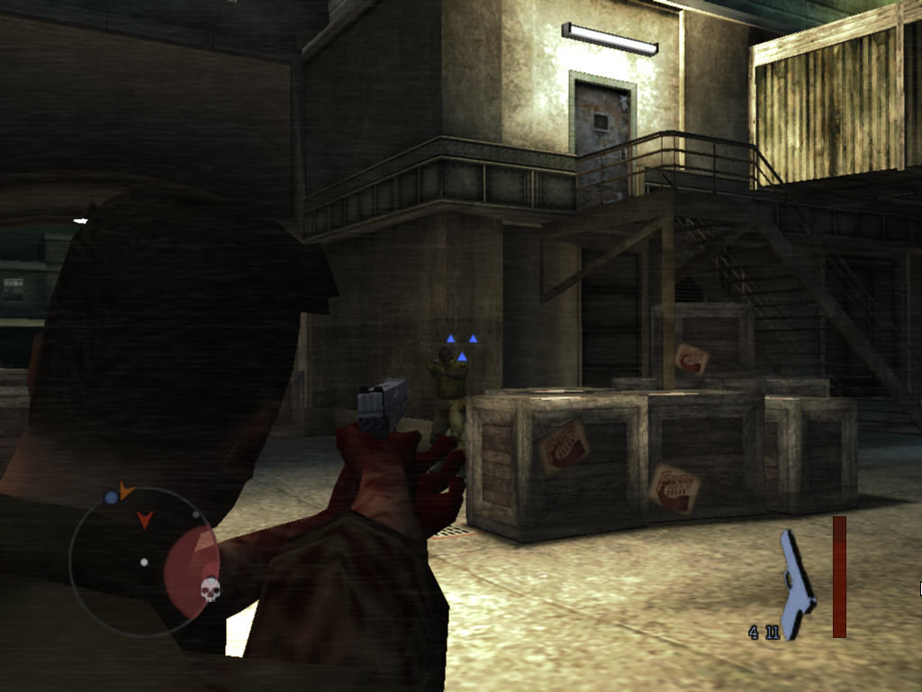Manhunt 2 Windows Shooting another foe