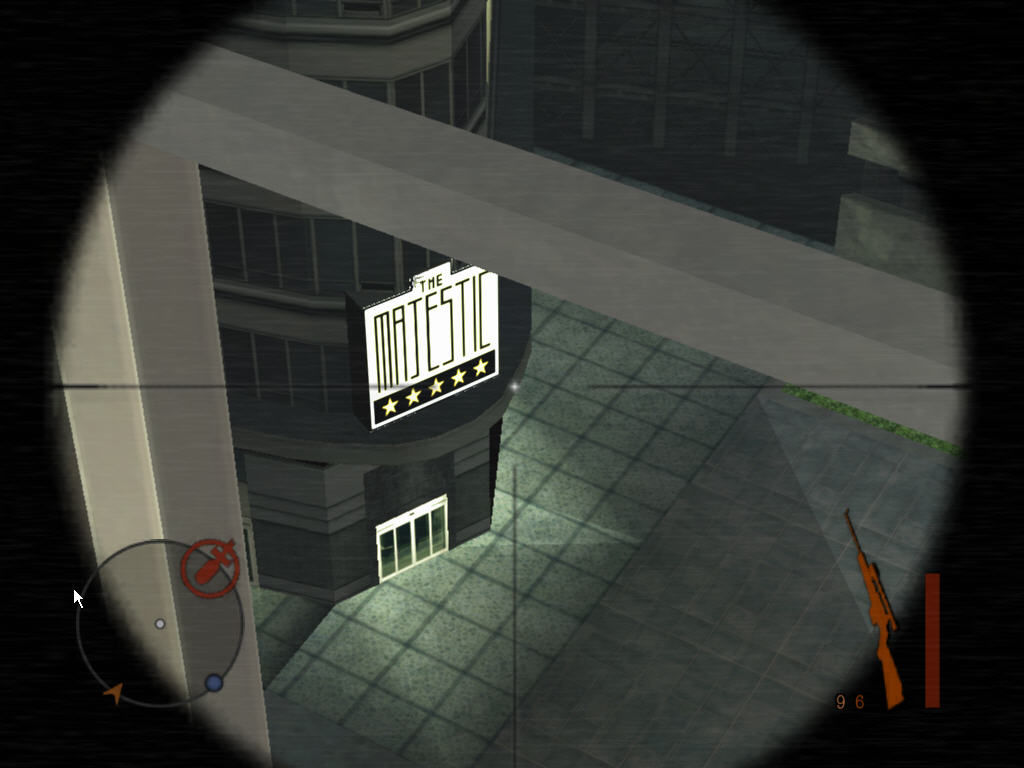 Manhunt 2 Windows Using a sniper rifle