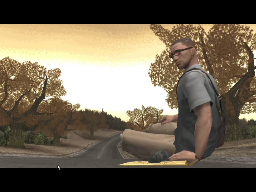 Manhunt 2 Windows Danny awakes on silent road