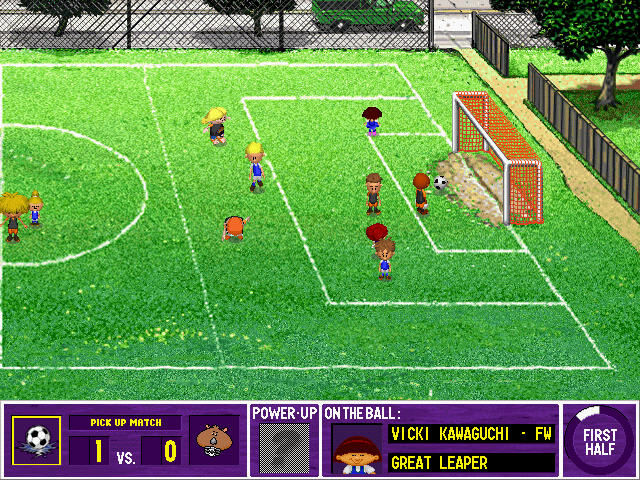 backyard soccer mls edition windows on field play with a goal shot