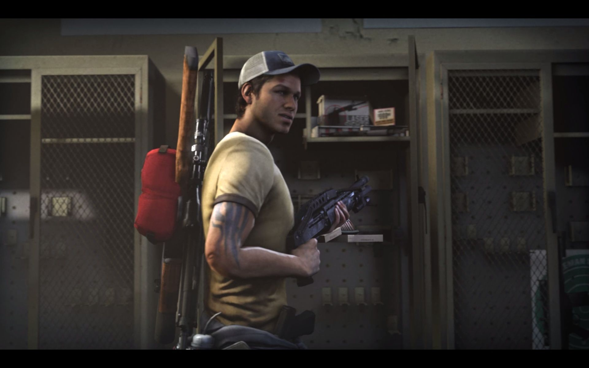 Left 4 Dead 2 Windows The intro presents the new characters. This is the car mechanic Ellis.