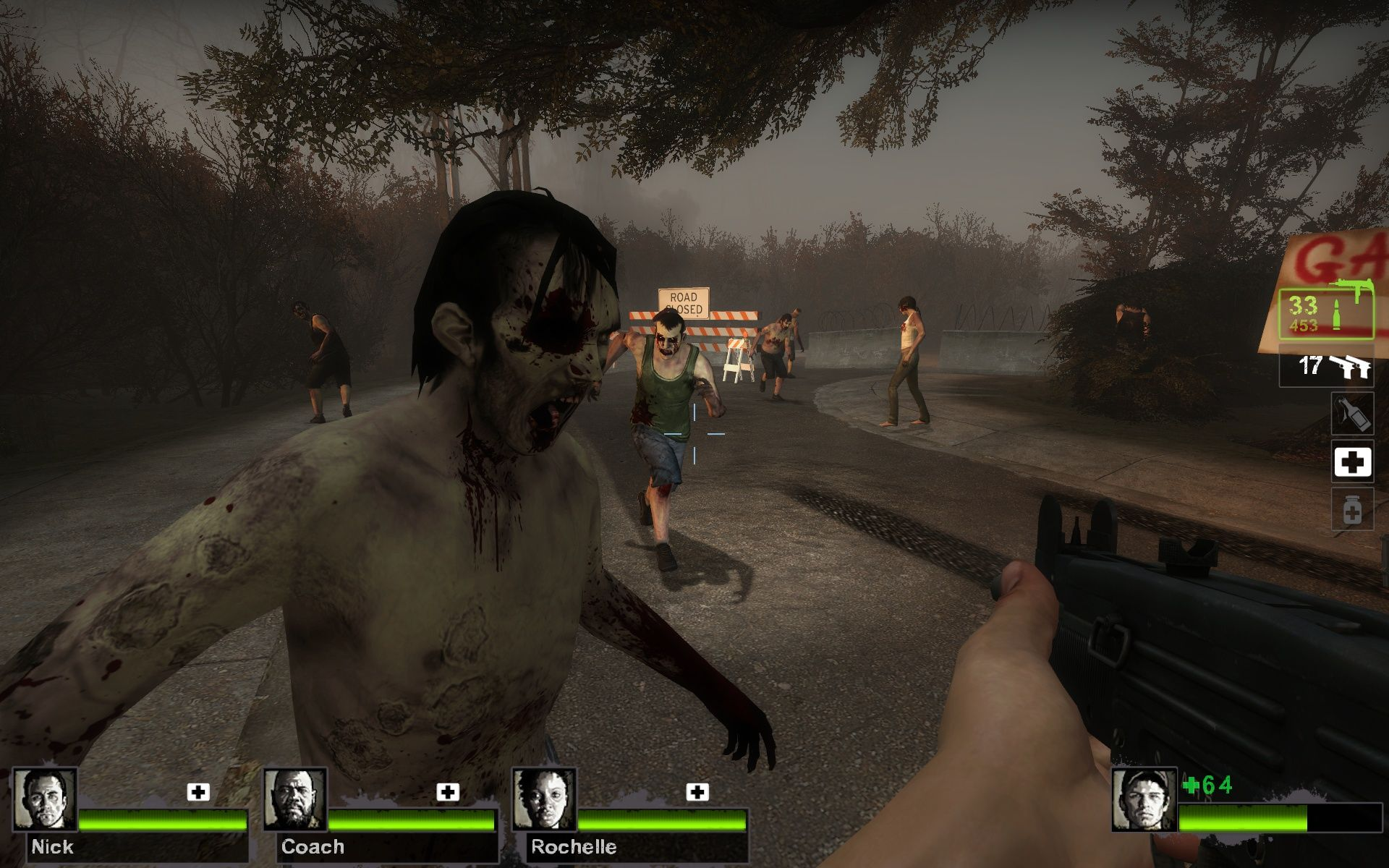 Left 4 Dead 2 Windows Doctor, can you take a look at my eye?