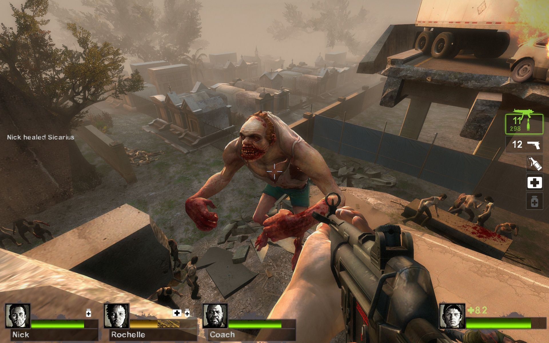 l4d2 meet the special infected