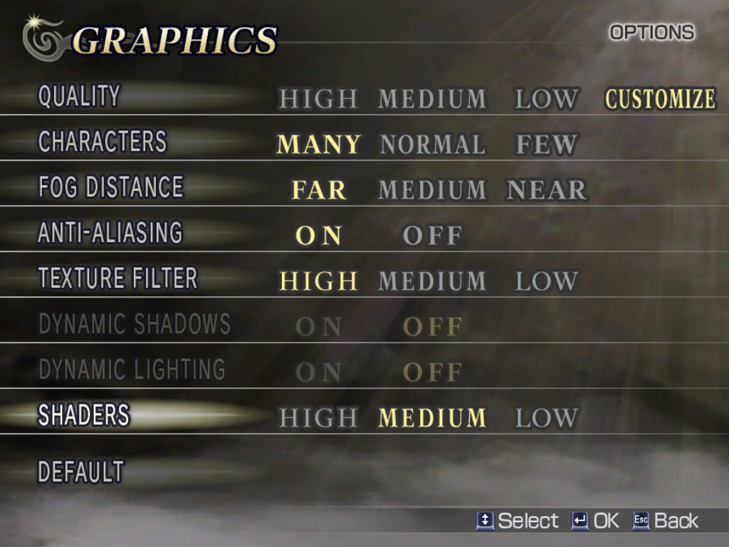 Warriors Orochi Windows Besides the resolution, the Windows version has numerous display options you can choose from to optimize your playing experience