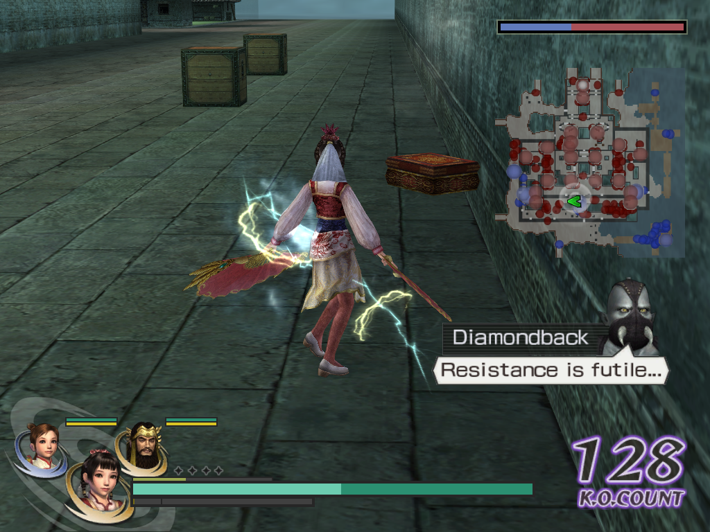 Warriors Orochi Windows When an enemy officer drops such a box, quickly grab it. It will contain a new weapon, perhaps more powerful than the one you wield and that can be used for weapon fusion anyway. Resistance is futile?