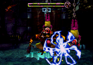 Scud: The Disposable Assassin SEGA Saturn Level 1 boss (here you can play with gun)