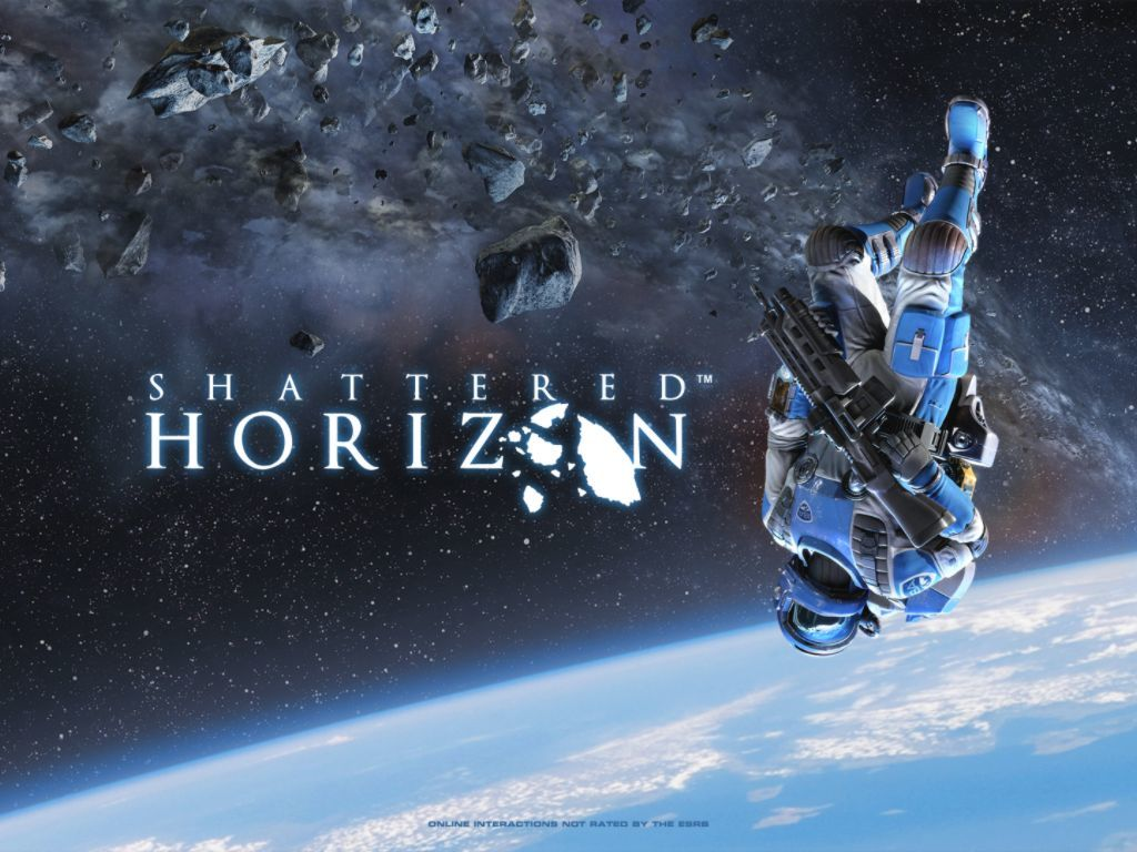 Shattered Horizon Windows Start-up screen
