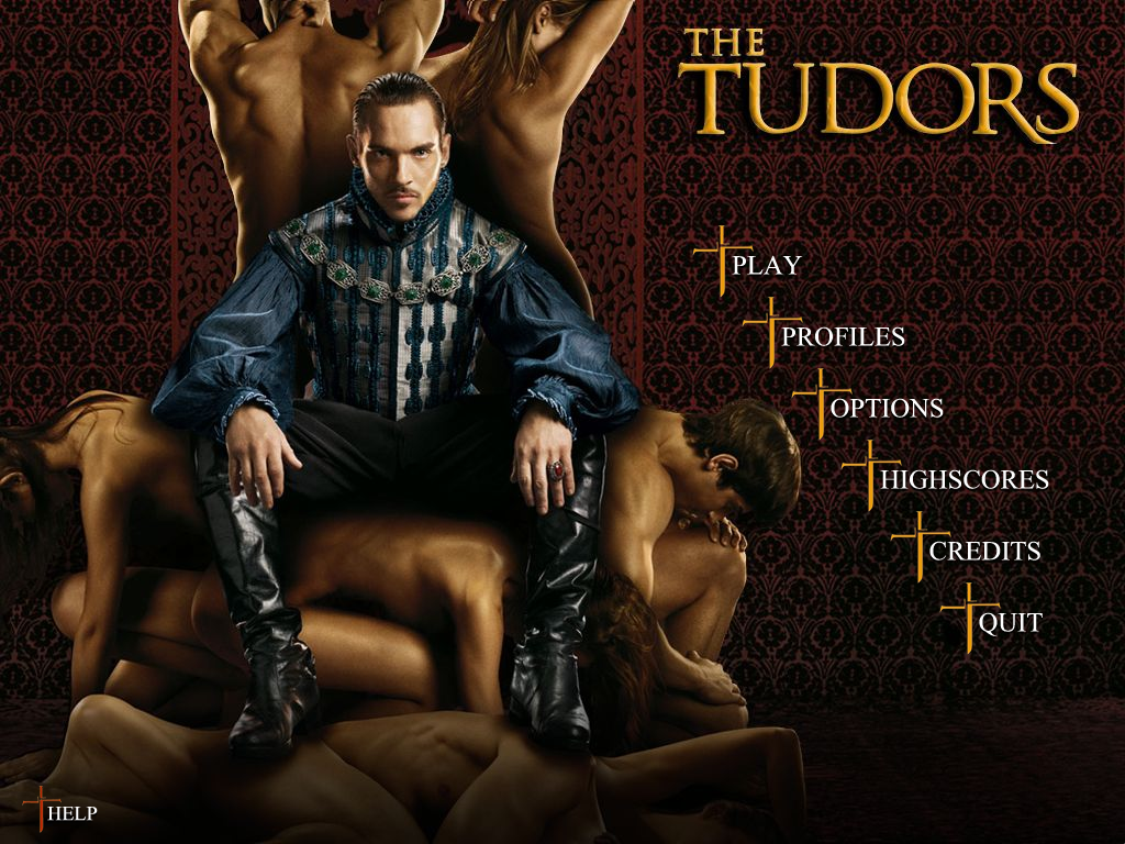 The Tudors Windows Main menu
