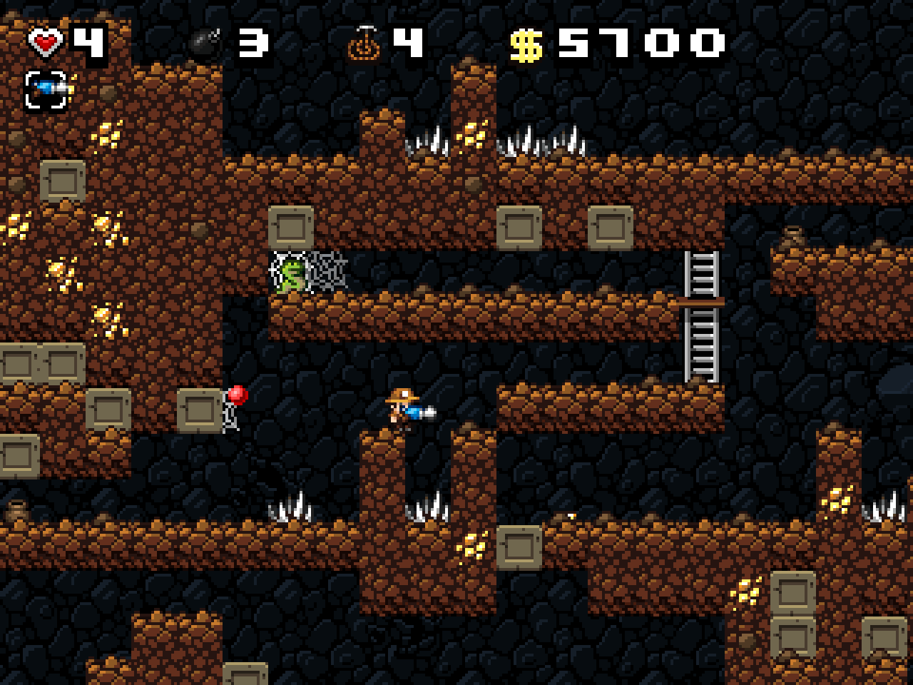 spelunky screenshots for windows mobygames