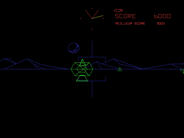 Atari Anniversary Edition PlayStation Battlezone - Incoming missile