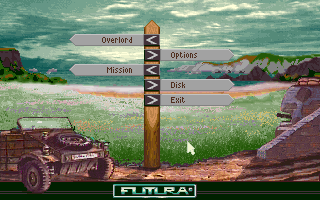 D-Day DOS Main Menu