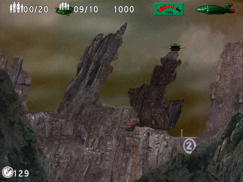 Thunderbirds: F.A.B. Action Pack Windows Mountain top shenanigans