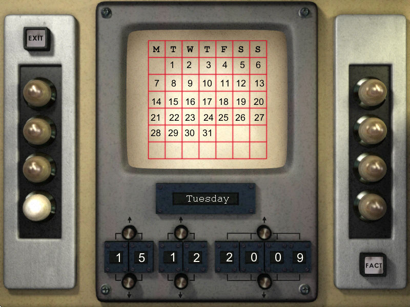 Thunderbirds: F.A.B. Action Pack Windows A nifty calendar with added fun facts